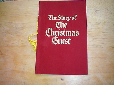 1950s Story of the Christmas Guest Christmas Card Booklet Shaw Barton