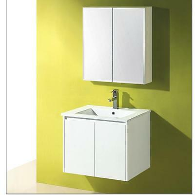 600mm Wall Hung Bathroom Vanity Ceramic Top