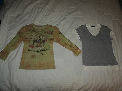 Girls Lot of 2 tops Size Small String Bean and Energie~Cute tops