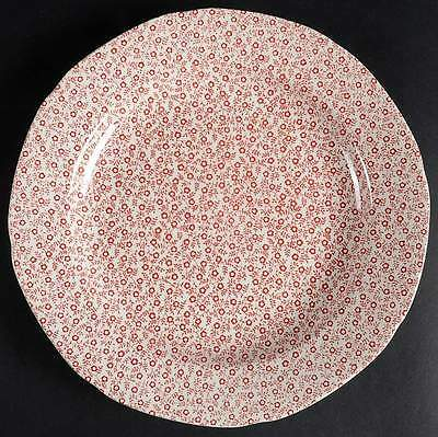 Burgess & Leigh FELICITY PINK RED Dinner Plate 6368783