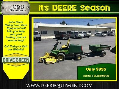 1991 John Deere F725 Riding Mowers