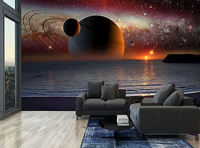 Sky Fantast Planets Space Stars Wall Mural Photo Wallpaper GIANT WALL DECOR