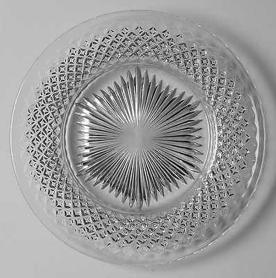 Westmoreland ENGLISH HOBNAIL CLEAR (ROUND BASE) Luncheon Plate 4505409