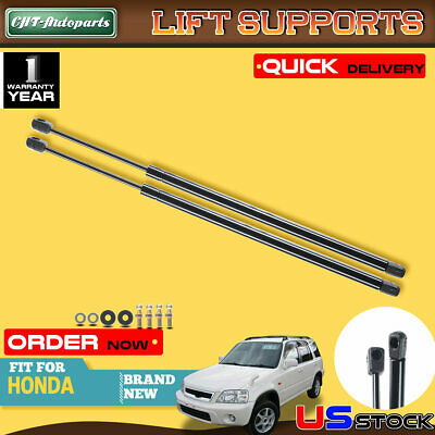 2x Rear Window Lift Supports Shocks Struts Springs for Honda CR-V 1997-2001 4294