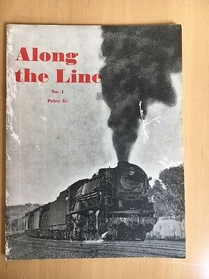 Along The Line No.1. (1961) Photos Of Most Railway Systems In Australia