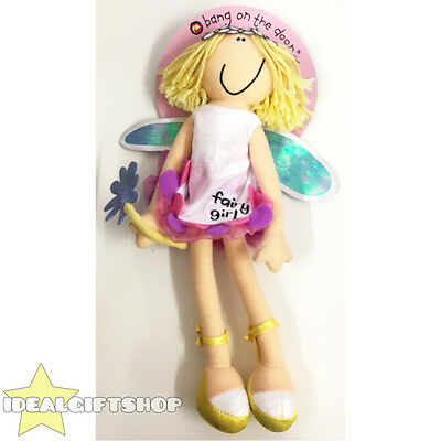 Official Bang On The Door Fairy Girl Doll Christmas Present Stocking Filler