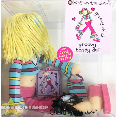 Official Bang On The Door Groovy Chic Doll + Keyring Xmas Gift Stocking Filler
