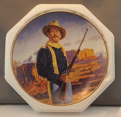John Wayne, Hero of the West  - Franklin Mint Collector's Plate -Limited Edition