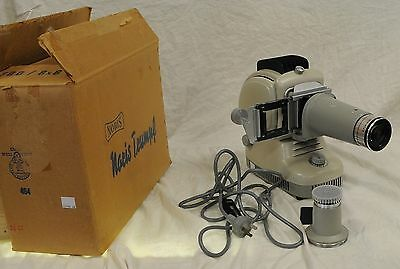 Noris 35mm Vintage Single Slide Projector with 2 Lenses - In Original Box