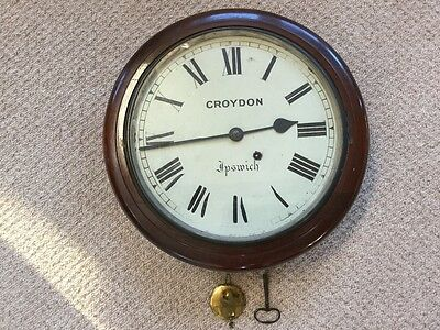 Single Fusee Wall Dial by Croydon, c. 1880