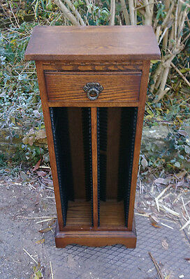 Old charm wood brothers cd storage cabinet