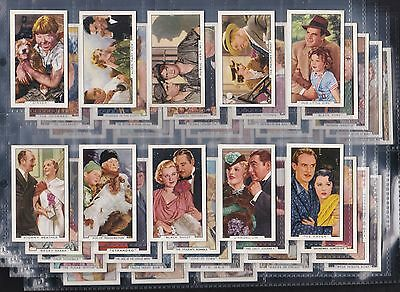 Gallaher - Film Episodes, Original Set Of 48 Issued In 1936. Nice Condition.