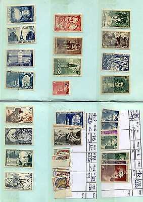 Timbres France Neufs ** Annees 1940 1950