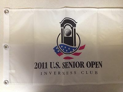 2011 Us Senior Open Pin Flag Olin Douglas Browne At Inverness Country Club