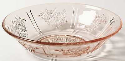 Federal Glass Company SHARON PINK Cereal Bowl 124662
