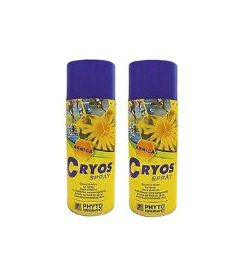 Spray Frío con Árnica Cryos  (Pack 10 + 2)