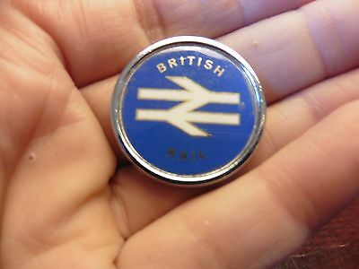vintage british railway badge