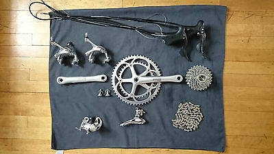 Campagnolo Chorus Record 9 speed groupset