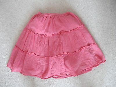 Girls John Lewis Summer Layered Skirt With Sequins Age 8 Years Hardly Worn