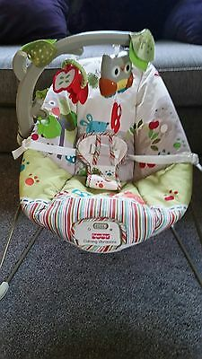Fisher Price Baby Bouncer (Woodsy Friends)