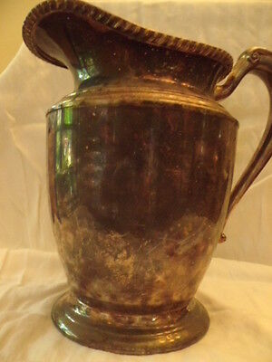 Crescent Silverware Mfg Co Silver Plated Pitcher