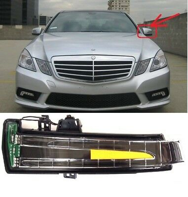Mercedes E W212 W204 MIRROR INDICATOR TURN SIGNAL BLINKER LAMP LEFT A 2129067201