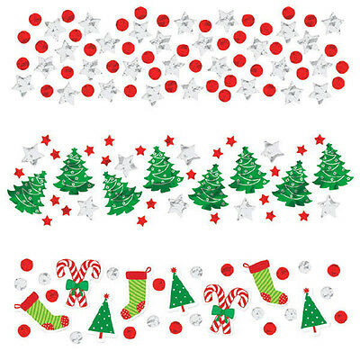 1.2oz Value Christmas Party Table Decoration Foil Confetti Sprinkles