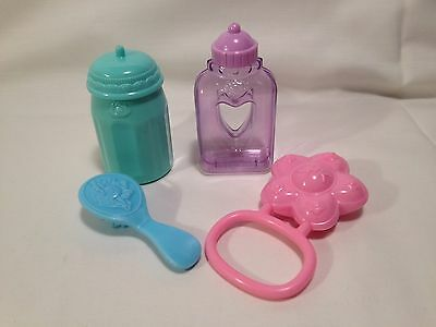 Cabbage Patch Kids 2004 Accessories Rattle Brush Bottles