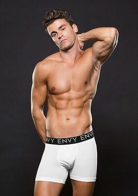 BACI ENVY LOWRISE ELASTIC BOXER SHORTS Gr. S / M WHITE Weiß |50
