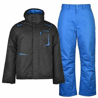 Campri Mens Gents Ski Set High Neck Jacket Trousers Overcoat Top Clothing