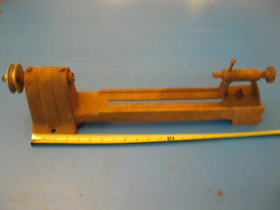 Vintage Small Hobby Wood Lathe length 21""