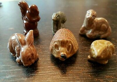WADE WHIMSIE x 6 WILDLIFE COLLECTION