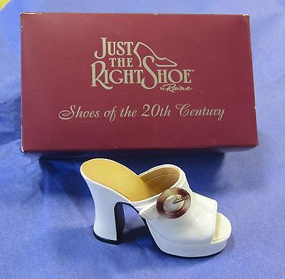 """""""JUST THE RIGHT SHOE"""" by Raine. STRUTTIN'. BOXED & LEAFLET. EXCELLENT CONDITION."""