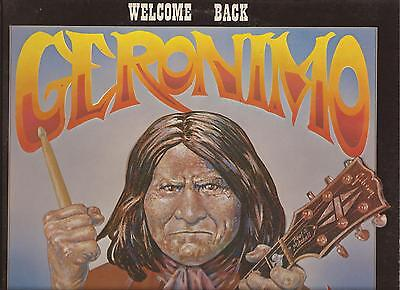 Geronimo Black - Welcome Back ( Mothers of Invention ) - ( Helios LP - EX )