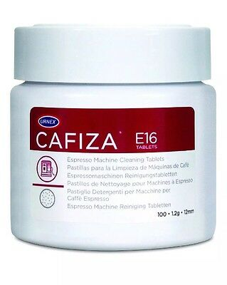 Urnex Cafiza Espresso Machine Cleaning Tablets, 1.2 g, Pack of 100