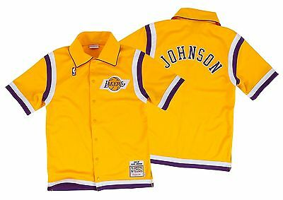 Magic Johnson Authentic Mitchell & Ness Shooting Shirt Small (36)
