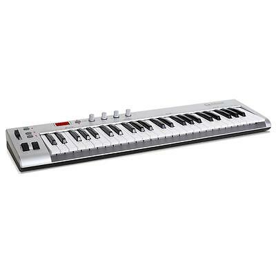 Pro Usb Midi Controller 49 Keys Electric Keyboard Piano Digital Foot Pedal Casio