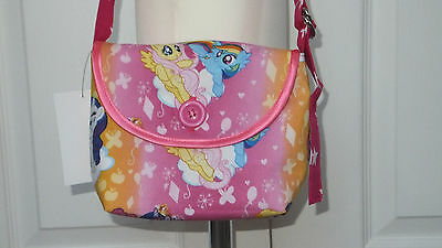 New Hand Crafted Girls My Little Pony Shoulder Cross Body Bag Christmas Gift