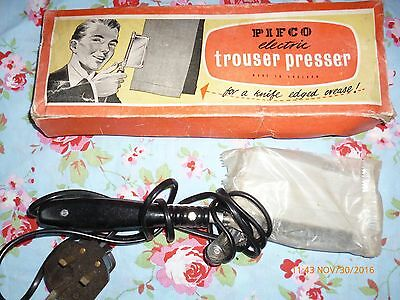 Vintage Pifco Electric Trouser Press With Box