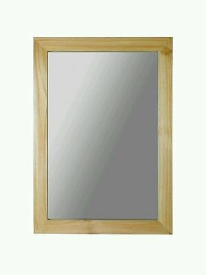 Home Wooden Wall Mirror  (Brand New And Boxed)