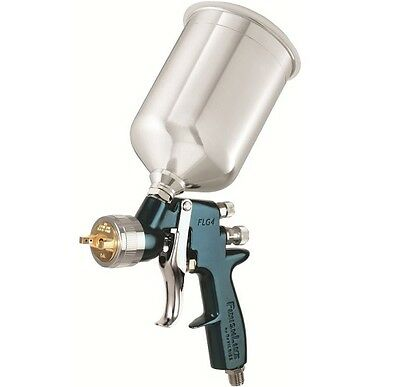 DeVILBISS FinishLine 4 HVLP Spray Paint Gun with 1.3 Tip and Metal Cup