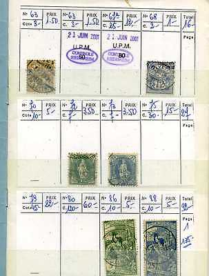 Timbres Suisse Obliteres