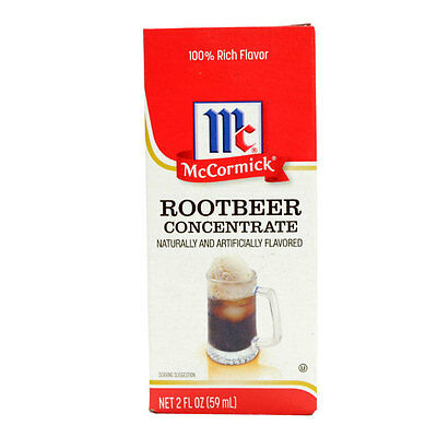 Mccormick Root Beer Concentrate 2 Fl Oz