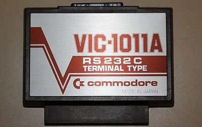 Vic-1011A Rs232C Terminal Type Adapter For Vic-20 Commodore 64 Modem Connection