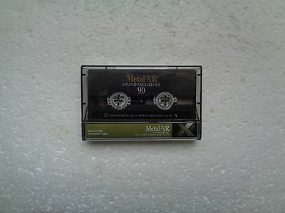 Vintage Audio Cassette SONY Metal-XR 90 From 1998 - Fantastic Condition !!