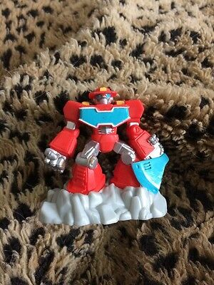 Transformers Rescue Bots Beam Box Heatwave The Fire-Bot Game Pack