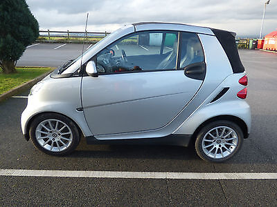 Convertible 2007 Smart Fortwo Passion Cabriolet 1.0