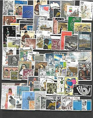 Eire Stamps - 65+ Different Used.