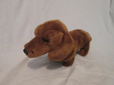RUSS Yomiko Classics NICE BROWN DACHSHUND WEINER DOG Plush STUFFED