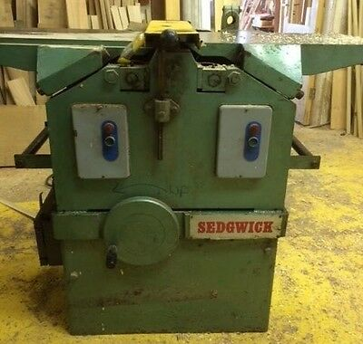 Sedgwick Planer thicknesser MB 308mm £800